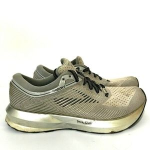 Brooks Levitate Womens Running Shoes Sneakers Gray